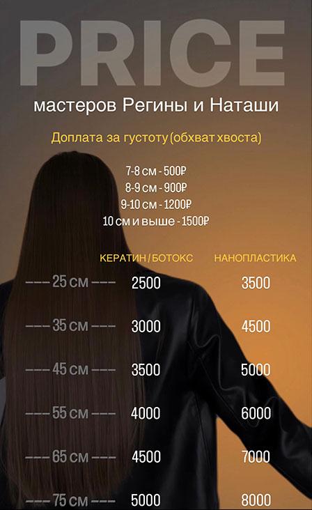 Кератиновое выпрямление волос казань цена